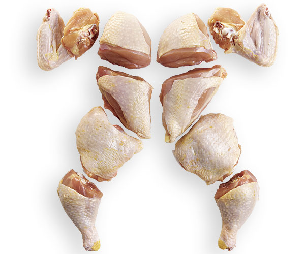 How to Cut a Whole Chicken Into Pieces - FineCooking