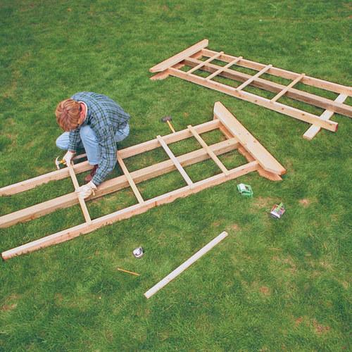 Build a Sturdy Arbor - FineGardening