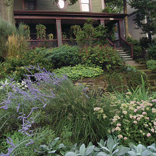 matching the colors of your house and garden