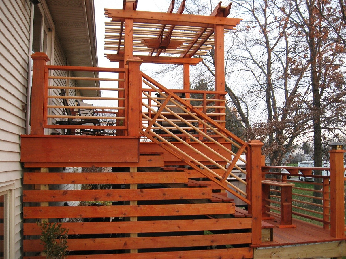 Deck facelift fine homebuilding for Alternative to decking