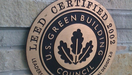 The U.S. Green Building Council says interest is growing in its Leadership in Energy and Environmental Design certification program.