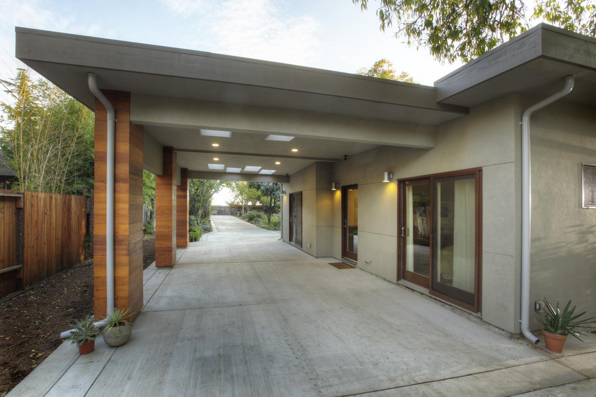 Modern Carport Makeover : Modern makeover the exterior fine homebuilding
