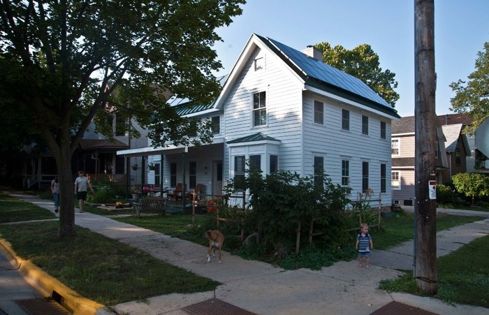 Rough Cut Lumber Madison Wi ~ Farmhouse in the city fine homebuilding