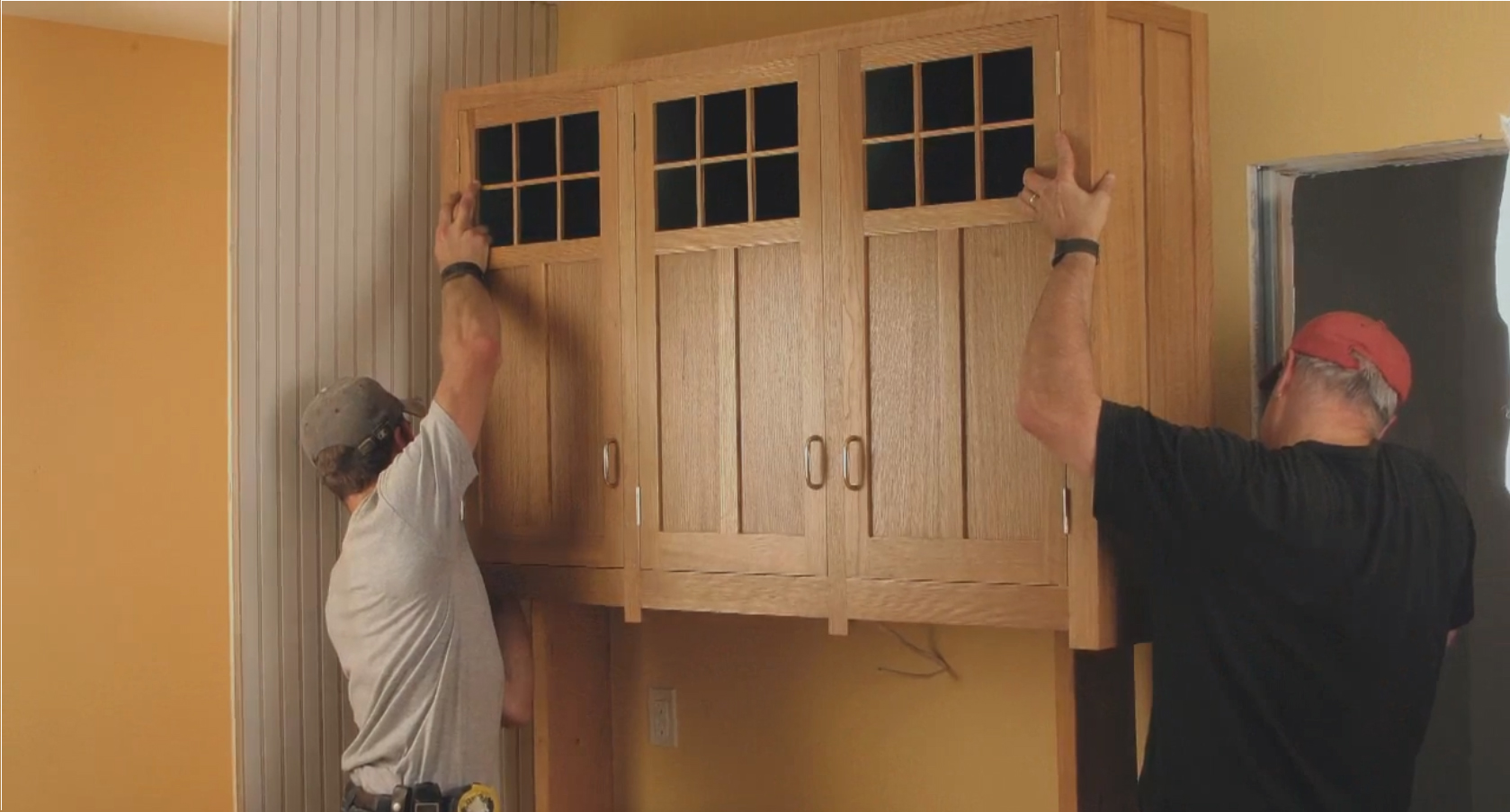 Master carpenter video how to fit inset cabinet doors for Door 3 facebook