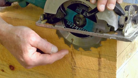How to Cut a Tenon for a Timber-Frame