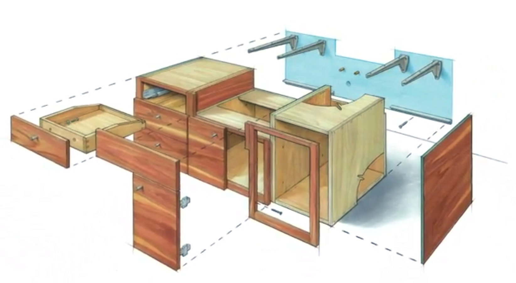 Video Series How To Build A Floating Vanity Fine Homebuilding