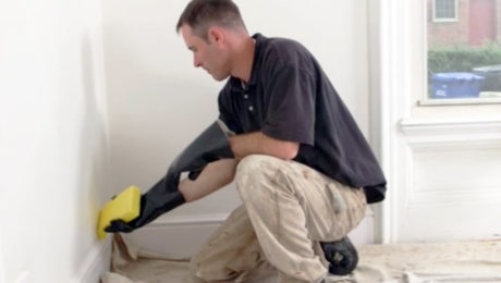 How to Paint A Room - Washing Walls