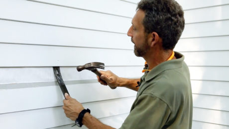 Siding Repair: Wooden Clapboards