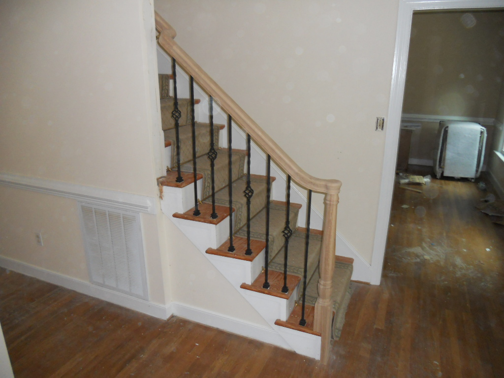 basement apartment stairs studio flat gold leeds