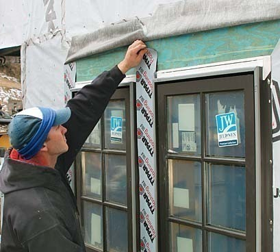 Installing and flashing windows correctly fine homebuilding How to replace an exterior window