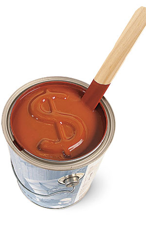 Why pay more for paint fine homebuilding - Long lasting exterior paint design ...