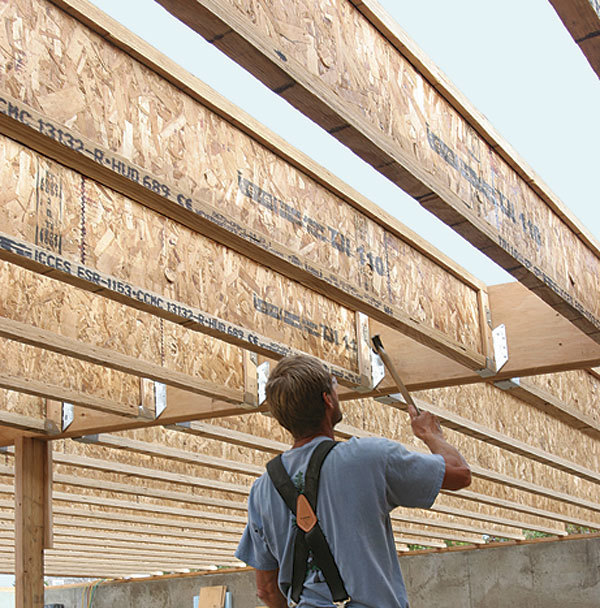 Exploring the benefits of engineered floor joists fine for Engineered roof trusses prices