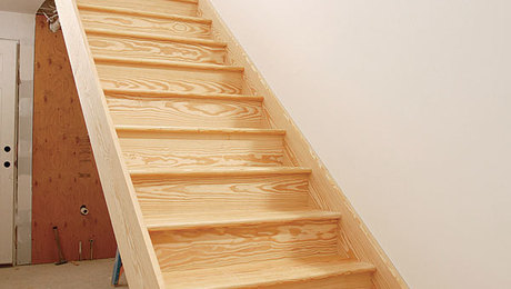 Housed Stringer Stairs The Frame Is The Finish Fine