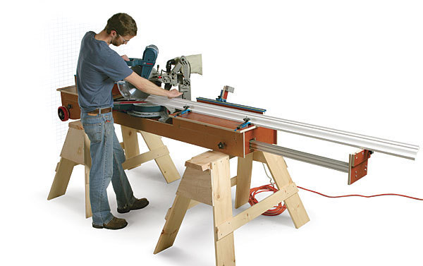 Ultimate Miter Saw Stand Fine Homebuilding