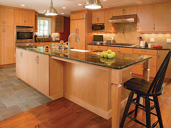 how to build a kitchen island - fine homebuilding
