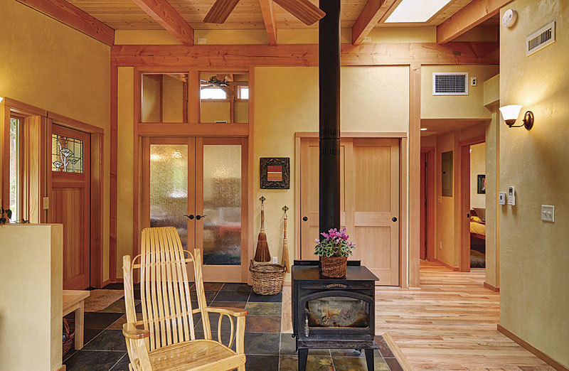 Best small home a garden cottage for low impact living for Finehomebuilding com houses