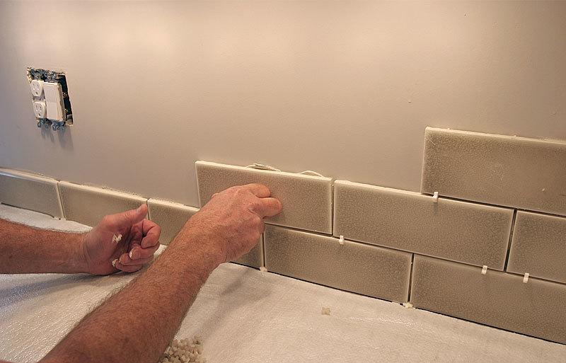 How to do a tile backsplash
