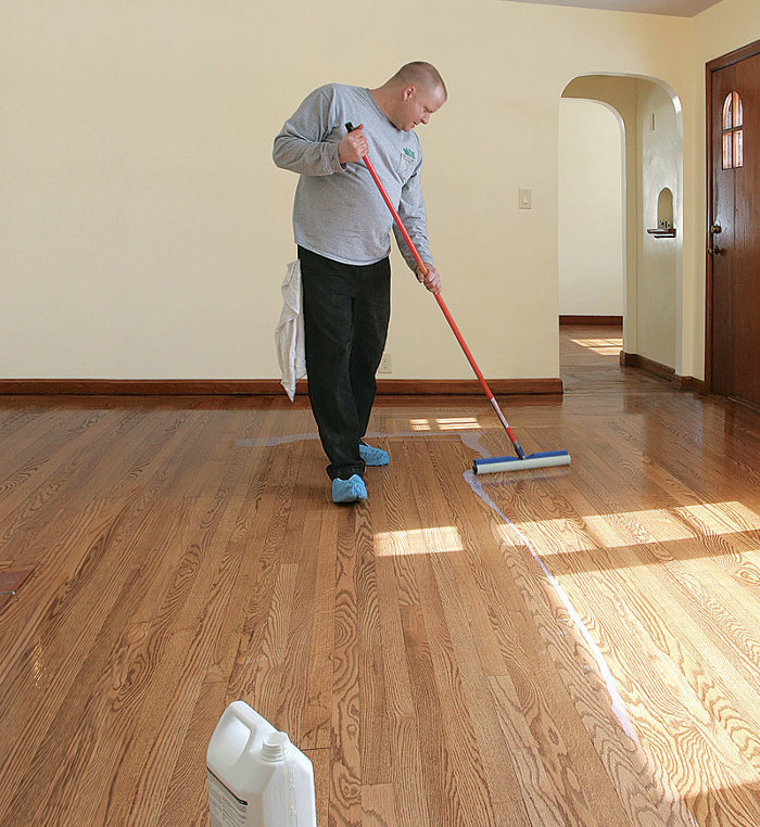 how to fix worn wood floors