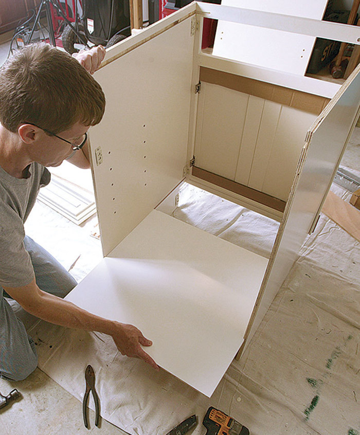 Ready-to-Assemble Cabinets - Fine Homebuilding