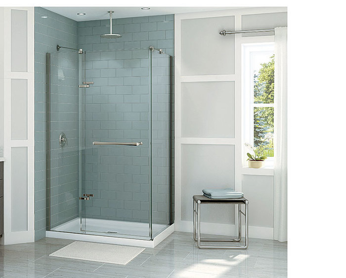 editor sean groom surveys the world of glass shower doors which fall into three categories framed and frameless