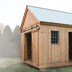 How to install cedar shingle and clear polycarbonate for How to shingle a shed