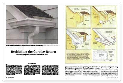 Fine Homebuilding September 2017 New Trim Fit For An Old House-Corner Shingles