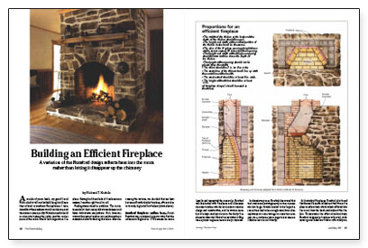Building an Efficient Fireplace - Fine Homebuilding