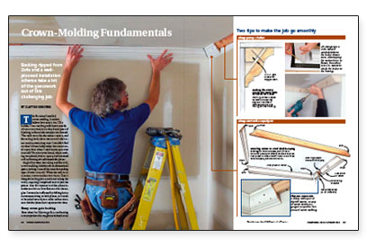 Installing Kitchen Cabinet Crown Molding - zitzat.com