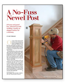 Sign Up For Eletters Today And Get The Latest How To From Fine  Homebuilding, Plus Special Offers. Every Staircase Has A Newel Post.