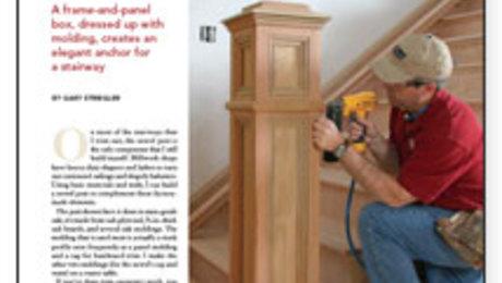 A No-Fuss Newel Post - Fine Homebuilding