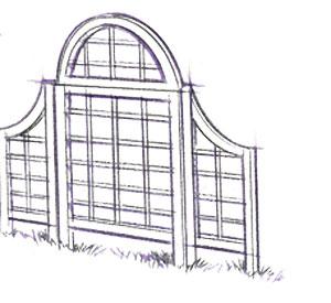 Build a craftsman style pergola fine homebuilding for Craftsman style trellis