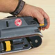 Survey of 3 in by 21 in belt sanders fine homebuilding the location of the speed control switch matters the switch position is convenient on the craftsman pictured bosch and ryobi sciox Image collections