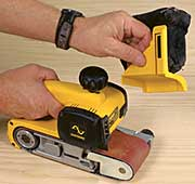Survey of 3 in by 21 in belt sanders fine homebuilding assembling the perfect belt sander sciox Image collections