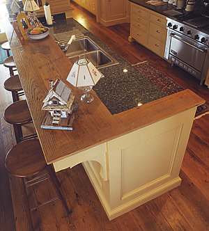 A Kitchen Work Island Designed With Guests In Mind Fine