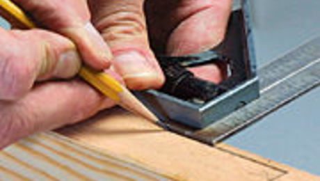 Mortising A Hinge With A Chisel Fine Homebuilding