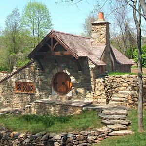 Inside the hobbit house fine homebuilding for Fine homebuilding houses