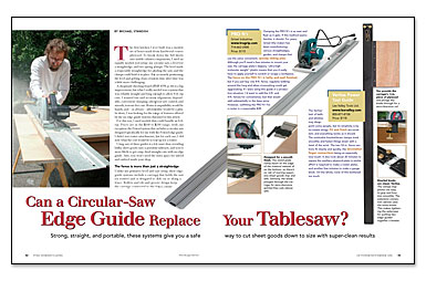 Can A Circular Saw Edge Guide Replace Your Tablesaw