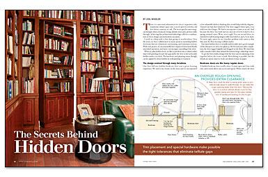 The Secrets Behind Hidden Doors