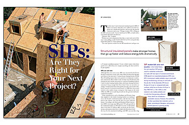 Sip panel house project