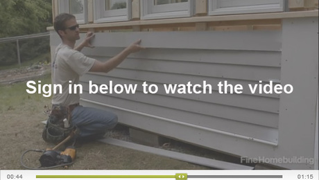 How To Install Corner Boards Skirtboards And Clapboards