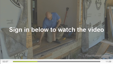 Install Exterior French Doors Prepare The Rough Opening Fine Homebuilding