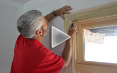 windows, doors, and backband molding