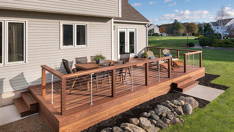 Ultimate deck build fine homebuilding for Steps to building a new home