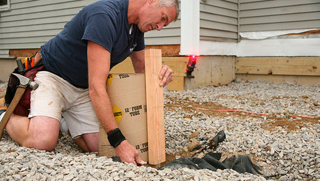 Ultimate Deck Build 2015 Pouring Accurate Concrete Piers
