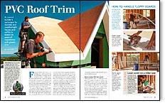 PVC Roof Trim