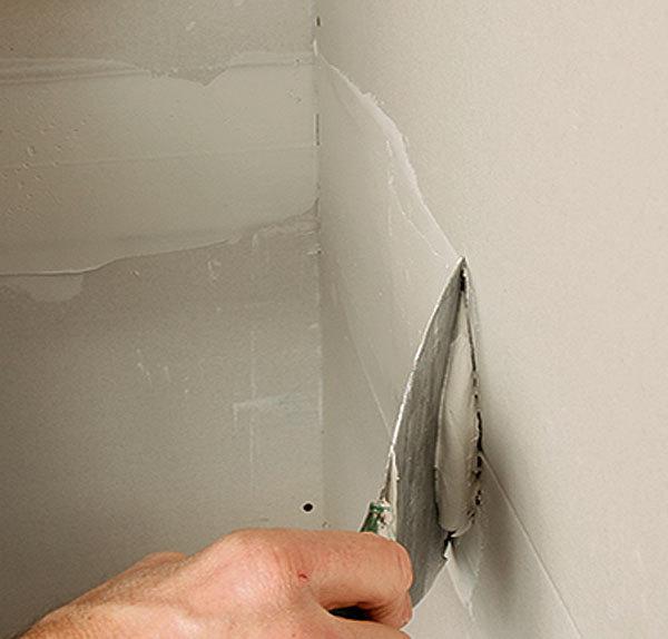 Как сделать внутренний углы стен 235