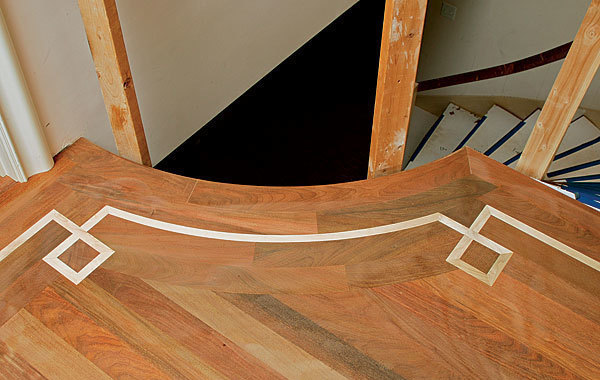 Curved Wood Floor Trim Carpet Vidalondon