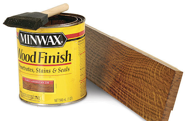 What 39 s the difference wood stains fine homebuilding for Best type of paint for wood furniture