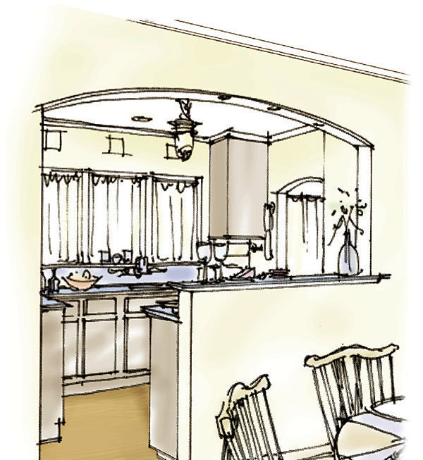 Opening Up A Small Kitchen Fine Homebuilding