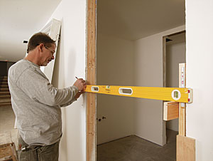 Jigs For Jambs And Other Doorhanging Advice Fine Homebuilding - Door jamb hinge template
